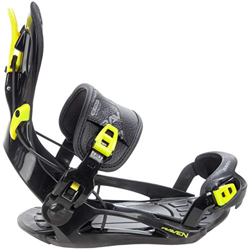 RAVEN Snowboard Bindung Fastec FT270 (Lemon, XL(43-47))