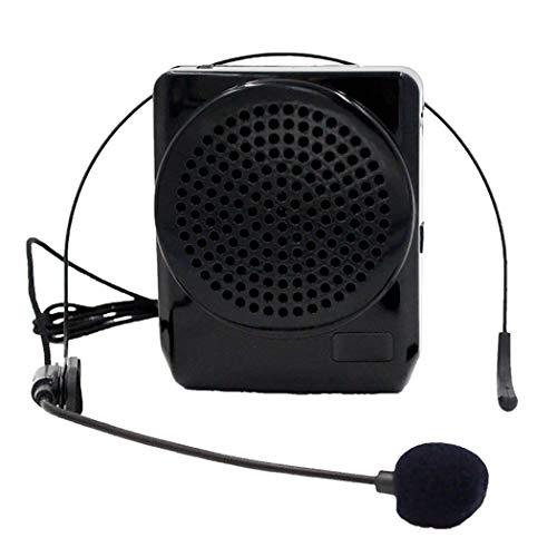 Spraakversterker, multifunctioneel helder 3D-geluid draagbare versterker luidspreker