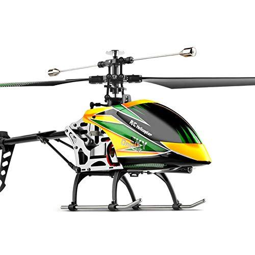DBXMFZW Helicóptero de Control Remoto sin alas de 6 Canales 2.4G Modelo de RC inalámbrico Avión 6G Modo RC Aircraft Gyro RC Avión Regalos de Juguete para Principiantes, batería Recargable