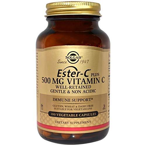 Ester C Plus 100 cápsulas vegetales de 500 mg de Solgar