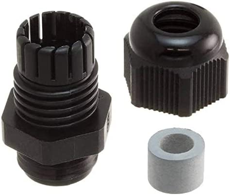 Essentra Components Don't miss the campaign CABLE GLAND 4-8MM Pac CG-PG9-2-BK NYLON excellence PG9