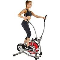 Sunny Health and Fitness SF-E1405 Máquina elíptica, Unisex Adulto, Gris, Medium