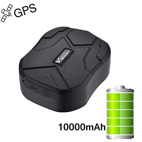 Winnes GPS Tracker Auto Camion Veicolo In Tempo Reale Di Tracciamento GPS Localizzazione Locator 150 Giorni Standby Con Forte Magnetico Antifurto Chutzl Ortungsgeraet Global Con App Gratuita Tk905B