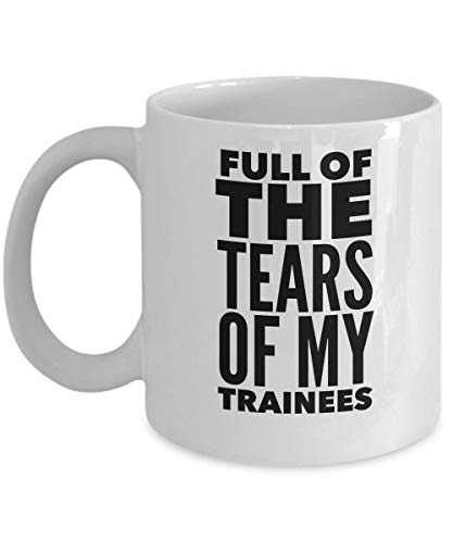 NA Air Traffic Controller Mug - Full of The Tears of My Trainees - Plane Lover Gifts - 11oz White Ceramic Coffee Cup