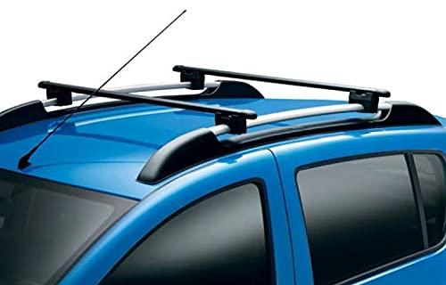 Barras de techo transversales de aluminio (Renault Original) compatibles con Renault Captur II
