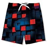 Fanient Pantaloncini da Nuoto per Bambini Quick Dry UPF 50+ Costume da Bagno da Spiaggia per Bordo Piscina, Immersioni e Surf
