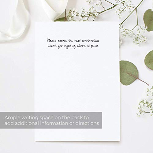 Greenery Fill in The Blank Bridal Shower Invitation / 25 Bridal Shower Invitations and Envelopes