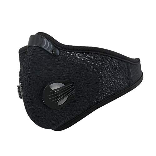 sportmaske Sport Maske Verschmutzungsmaske Radfahren Gesichtsmaske für Luftverschmutzung Anti-Verschmutzungsmaske Radfahren Zyklusmaske