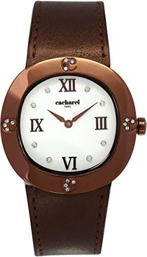 Cacharel CLD 006-5BU - Reloj de Pulsera para Mujer (analógico, Cuarzo, Piel)