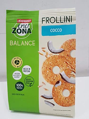 6 Enerzona Frollini 40-30-30 da 250 g. gusto Cocco