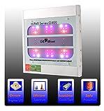 LED Grow Lights | GROWant G5 HiPAR Seires | OSRAM Full Spectrum with UV & IR for Indoor Plants Veg and Flowering (400Watt, White)
