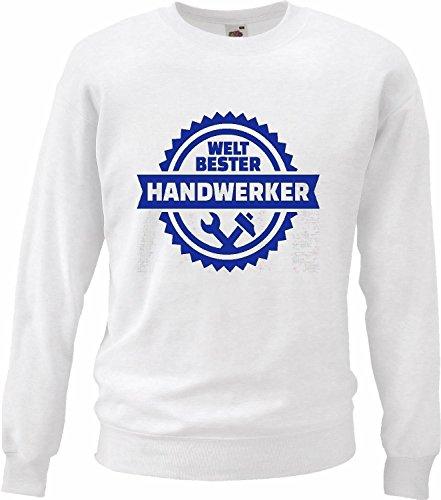 Reifen-Markt Sweatshirt Damen Motiv-105430 Größe L Farbe Weiss Druck