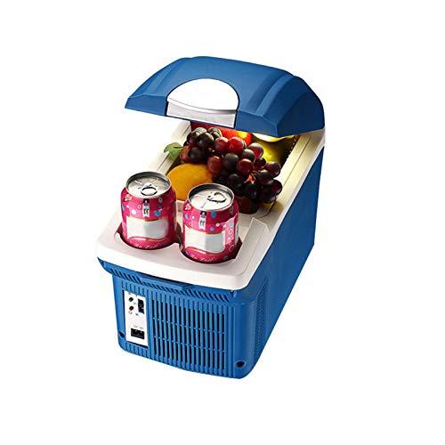 Refrigerador Portátil Para Automóvil De 8 Litros, Refrigerador De Doble Uso Para El Hogar Y El Automóvil, Refrigerador Silencioso, Mini Refrigerador Multifunción De Refrigeración Y Calefacción