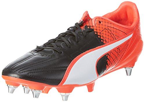 Puma Herren evoSPEED SL II L Tricks Mix Fußballschuhe, Schwarz black White-Red blast 03, 40 EU