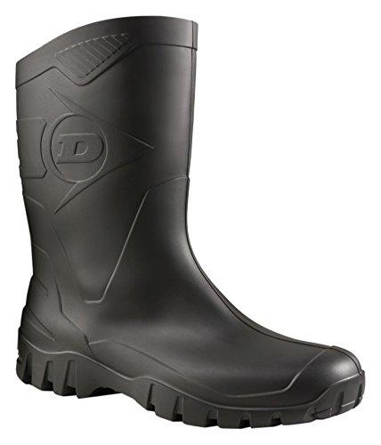 Dunlop Protective Footwear Dee  Unisex-Erwachsene Gummistiefel, Schwarz 42 EU