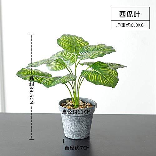 HYLZW Kunstbloem potplant simulatie bonsai potplanten namaakbloemen kunstbloemen hoofddecoraties woonkamer interieur bureaufeest