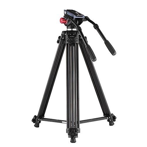Trípode Andoer 180cm Trípode Pro de Cámara Video de Aleación de Aluminio...