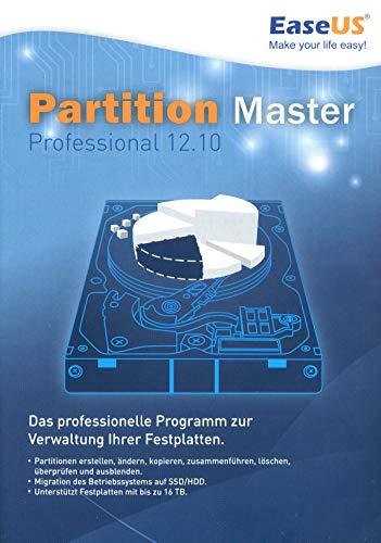 EaseUS Partition Master Professional 12.10