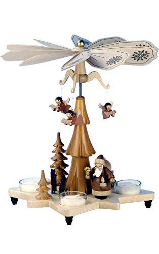 Christian Ulbricht 33-304 Pyramid, Santa in Natural Wood finish-11 H W x 10