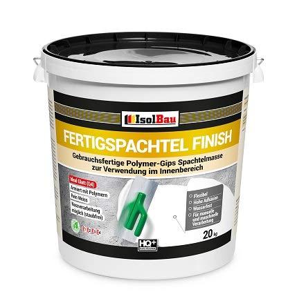 Spachtel masse Q4 Fertigspachtel Finish 20 kg Glätt Flächen Füll Fugenspachtel