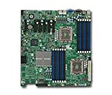 Supermicro MBD-X8DTE-F Dual LGA 1366 6 SATA Ports via ICH10R Dual GbE LAN Ports Integrated Matrox G200eW graphics IPMI 2.0 Full Warranty