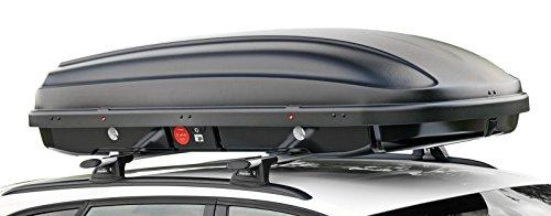 Kamei DuoLift Edition Hahn Dachbox 510 Liter 200 x 90 x 44 cm beidseitig öffnend