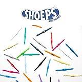 Shoeps - Cordones Elásticos, 14 Piezas Plata