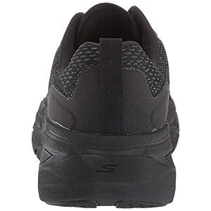 Skechers Men's Max Cushioning Premier Vantage-Performance Walking & Running Shoe Sneaker, Black/Charcoal, 9 M US