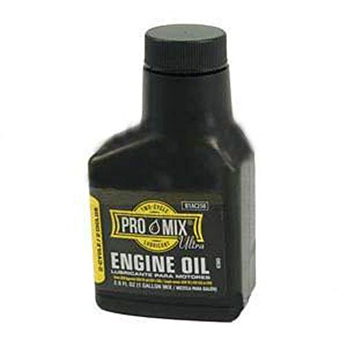 ProMix Ultra 2-Cycle Engine Oil for Lawn Mowers and Small Engines with Fuel stabilizer 12.8 oz Case of 12