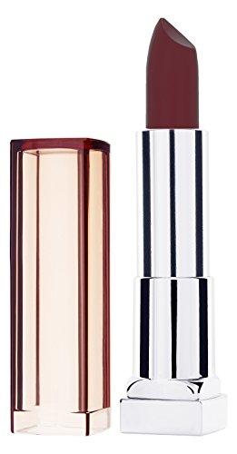 Maybelline New York Make-Up Lippenstift Color Sensational Nudes Lipstick Naked Brown / Natürlicher Hautton mit pflegender Wirkung, 1 x 5 g