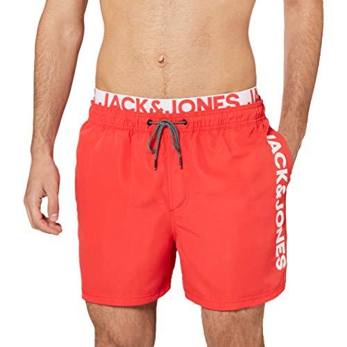 JACK & JONES Male Badeshorts Bali Logo MFlame Scarlet