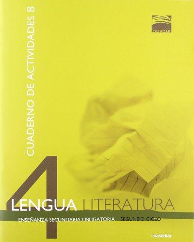 Ostadar 4. Lengua y Literatura 4. Cuaderno de actividades 8 - 9788415586036