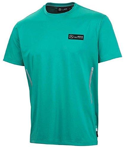 NEU. 2015Mercedes-AMG Formel F1Team Herren Pit Shirt schwarz/grün/grau, grün