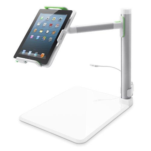 Belkin Tablet Stage interaktives Whiteboard, Dokumentenkamera (geeignet für Tablets von 7 Zoll bis 11 Zoll, inkl. Stage App)