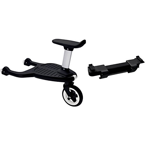 Bugaboo Comfort Wheeled Board with Seat + Bugaboo Comfort Wheeled Board Adapter - Donkey/Buffalo