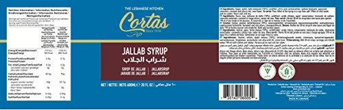 Cortas Jallab Syrup, 19 oz