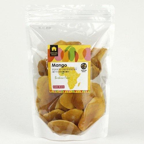 【有機認証原料 使用】ブルキナファソのドライマンゴー 無添加・砂糖不使用 (500g)