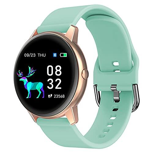 Smart Watch, Ladies R3, IP68 Impermeable, Ejercicio para Hombre Ejercicio cardíaco Fitness Damas Reloj para Android iOS,D