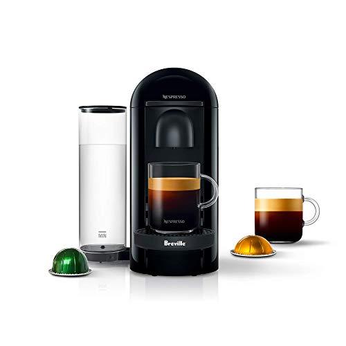 Nespresso VertuoPlus Coffee and Espresso Machine by Breville, Ink Black (Renewed) -  BNV420IBL1BUC1-cr