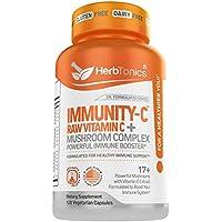 Herbtonics Powerful Immune Support Booster Supplement Capsules