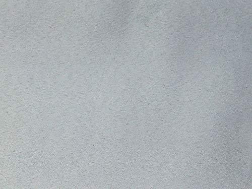 Minerva Crafts Wasserabweisender Velourslederimitat, Zartblau – Meterware