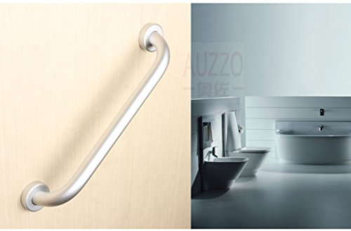 WEBO HOME- accessoires mains courantes baignoire salle de bains wc salle de bain Espace d'aluminium personnes âgées tirent des mains sûres -Main courante de salle de bain (taille : 40 cm)