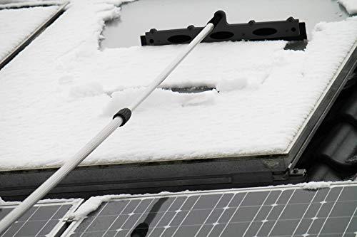 Axis24 Photovoltaik Schneeschieber Profi Spezialkunststoff 54x12 X-Fest