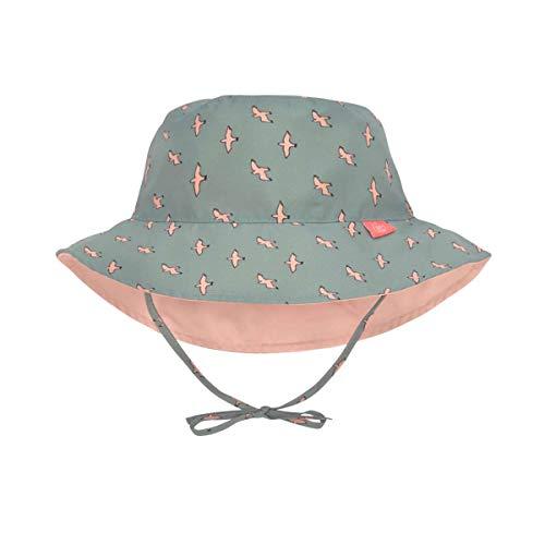 LÄSSIG Sonnenhut Kinder - Bucket Hat, Seagull Green, 09-12 Monate