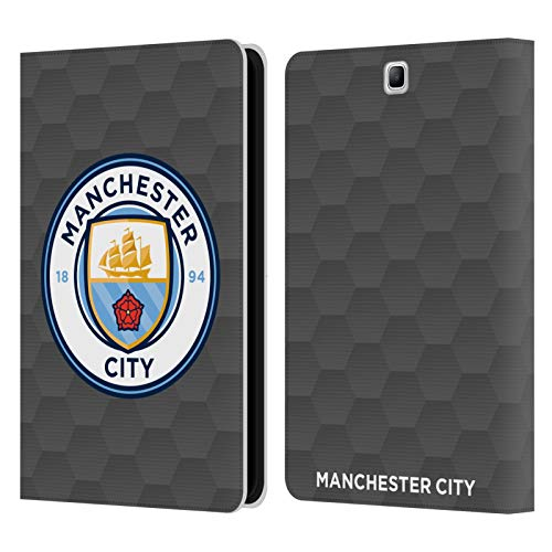 Official Manchester City Man City FC Home Goalkeeper 2020/21 Badge Kit Leather Book Wallet Case Cover Compatible For Samsung Galaxy Tab A 9.7