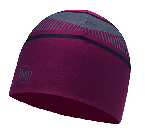Buff 115333.555.10.00 Bonnet Mixte Adulte, Slope Multi-Red, FR Fabricant : Taille Unique