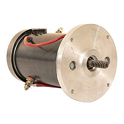 DB Electrical LPL0048 Motor for Auto Crane Autocrane Ametek Dunmore 12-24 Volt Reversible iwith Double Ball Bearing 300105, 300105-001