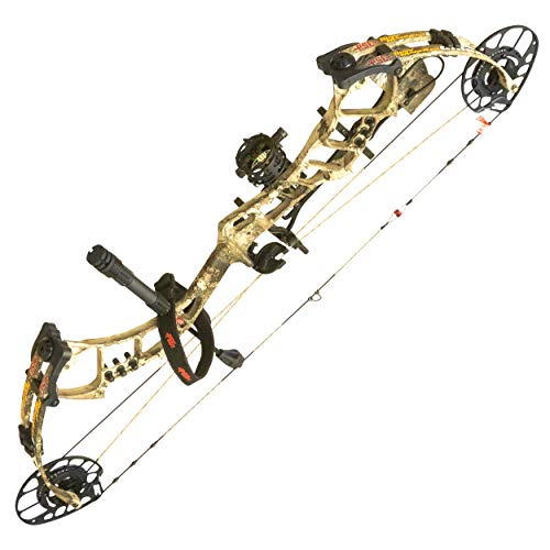 PSE ARCHERY Bow Madness Unleashed Compound Bow-Hunting-Set-Arrow - Right Hand - TrueTimber Strata - 29-60