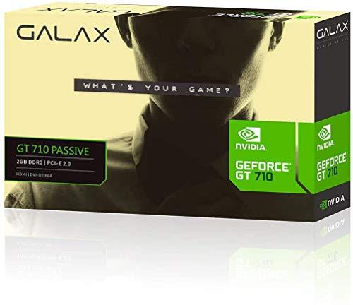 GeForce galax gt mainstream nvidia gt 710 2gb ddr3 64bit 1000mhz dvi hdmi vga