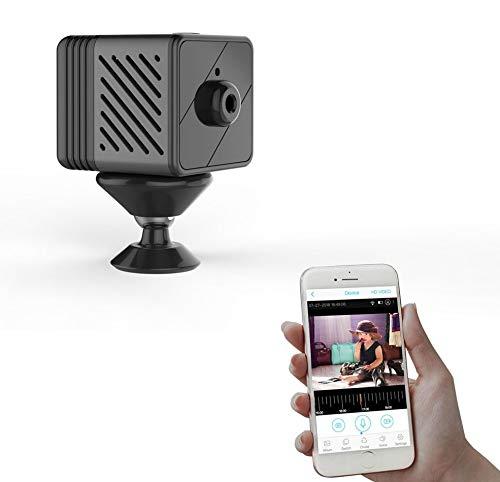 Microcamera Spia Spy IP Cam P2P Visione Live Tempo Reale da Remoto su Smartphone Android iPhone Notifica Push Alert Motion Detection Autonomia Batteria 90 Giorni Visione al buio Led Invisibili Ir 940